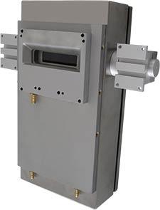 Pyrometer-Scanner im Kühlgehäuse